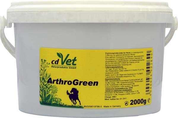 CD-Vet ArthroGreen  2.000 g