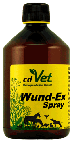 CD-Vet WundEx Spray 500 ml (ehem. Wund-Ex forte Spray)