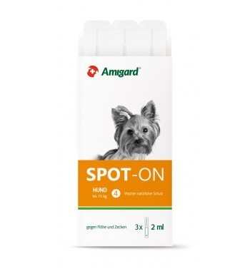Amigard Spot On Hund unter <15 kg 3er x 2 ml