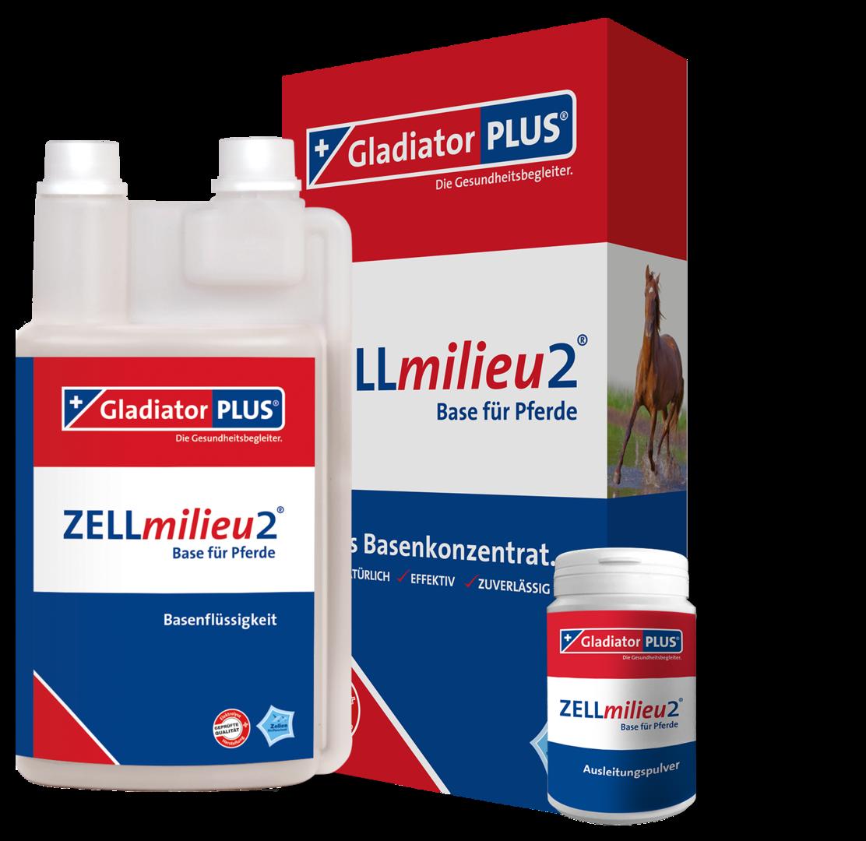 ZELLmilieu2 Base 200 G Pulver Fur Pferde 500ml
